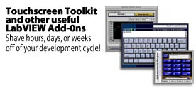 The BetterVIEW Touchscreen Toolkit and other useful LabVIEW Add-ons...